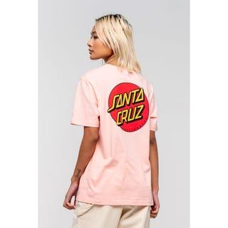Santa Cruz Classic Dot T-Shirt Blossom