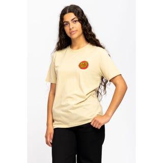 Santa Cruz Classic Dot T-Shirt Iced Coffee