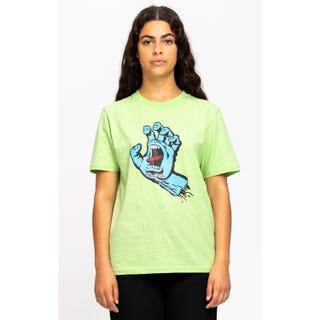 Santa Cruz Screaming Hand T-Shirt Fresh Lime