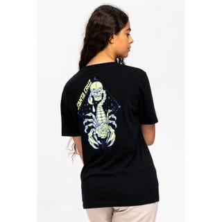 Santa Cruz Scorpio T-Shirt Black