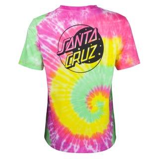 Santa Cruz Crescent Dot T-Shirt Psychedelic Multi