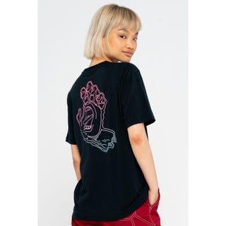 Santa Cruz Void Hand Fade T-Shirt Black