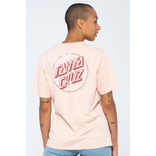 Santa Cruz Moonlight Variation T-Shirt Chalk Pink