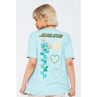 Santa Cruz Alt. Energy T-Shirt Sea Blue