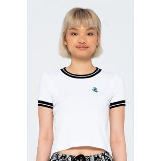 Santa Cruz Mini Hand Ringer T-Shirt White