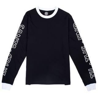 Santa Cruz Women's Screaming Skull L/S T-Shirt Black