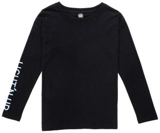 Santa Cruz Light'N Up T-Shirt Long Sleeve for Women - Black