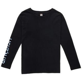 Santa Cruz Light'N Up T-Shirt Long Sleeve for Women - Black