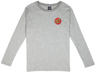 Santa Cruz Don't Walk T-Shirt Long Sleeve for Women - Grey