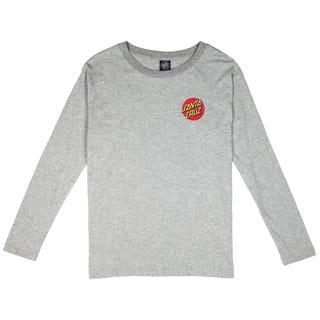 Santa Cruz Don't Walk T-Shirt Long Sleeve for Women - Grey