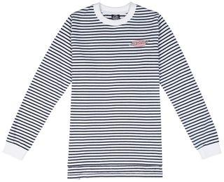Santa Cruz Oval Dot T-Shirt Long Sleeve for Women - Black/White