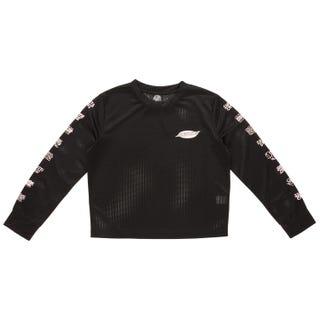 Santa Cruz Multi Cruz T-Shirt Long Sleeve for Women - Black