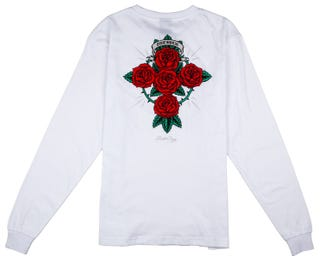 Dressen Rose Cross L/S T-Shirt