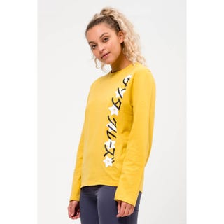 Japanese Blossom Strip L/S T-Shirt