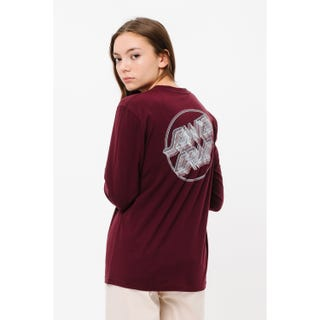 Linear Dot L/S T-Shirt