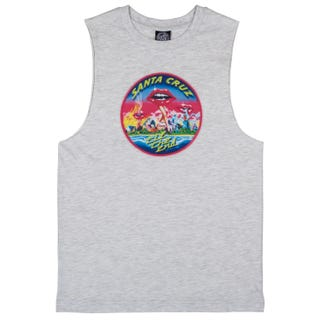 Santa Cruz UK Clothes Invade Vest Athletic Heather