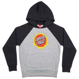 Santa Cruz Clothing EU - Dot Reflection Hood Black / Heather Grey