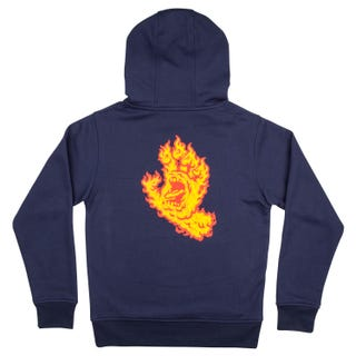 Youth Flame Hand Hood