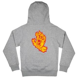 Youth Flame Hand Hood