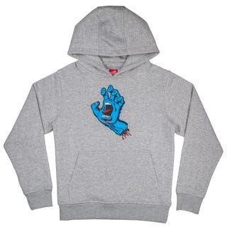 Santa Cruz Youth Screaming Hand Hoodie Heather Grey