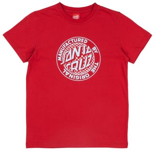 Santa Cruz Fisheye MFG Youth T-Shirt Short Sleeve