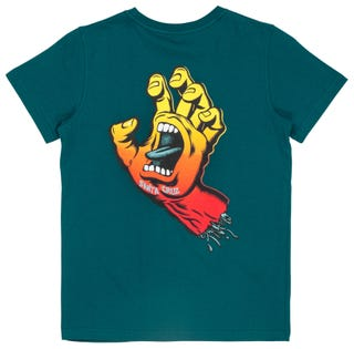 Santa Cruz Fade Hand Youth Short Sleeve T-Shirt