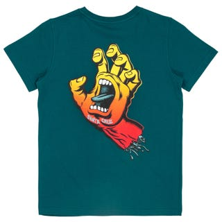 Santa Cruz Fade Hand Youth Short Sleeve T-Shirt