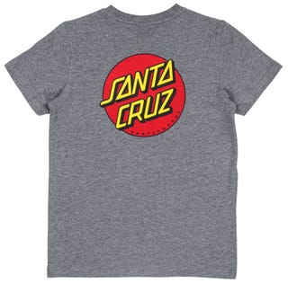 Santa Cruz Youth OG Classic Dot T-Shirt Short Sleeve.