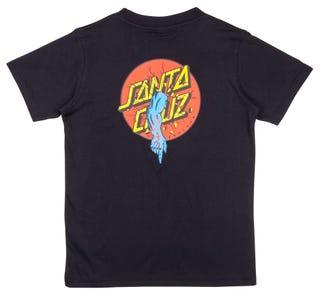 Santa Cruz Clothing Europe - Rob Dot Youth T-Shirt Black