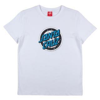 Santa Cruz Youth Rob Target T-Shirt White
