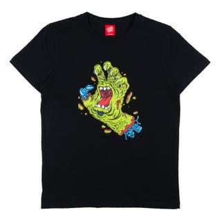 Santa Cruz Youth Rob Hand T-Shirt Black