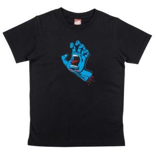 Santa Cruz Youth Screaming Hand T-Shirt Black