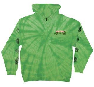 Santa Cruz Clothing - TMNT Mutagen Hooded Sweatshirt Spider / Lime