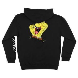 Santa Cruz SpongeBob Hand Hood Black