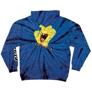 Santa Cruz SpongeBob Hand Hood Blue