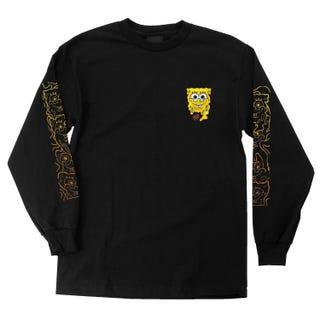 Santa Cruz SpongeBob Melt T-Shirt Black