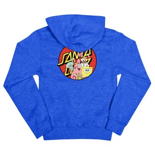 Santa Cruz Clothing UK & Europe - SpongeBob Group Youth Hood