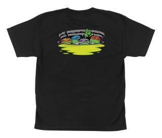Santa Cruz TMNT Ninja Turtles T Shirt Black - Youth