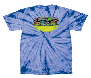 Santa Cruz TMNT Ninja Turtles T Shirt Spider / Royal - Youth