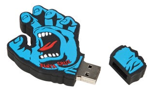 Santa Cruz Screaming Hand Accessories – Memory Stick Blue
