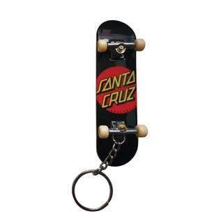 Santa Cruz Classic Dot Fingerboard Keychain