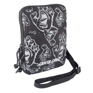 Santa Cruz Trace Bag All-over Black Hands