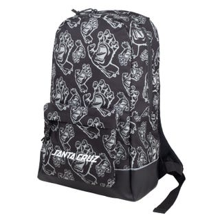 Santa Cruz Drift Drift Backpack Black All-over Hands