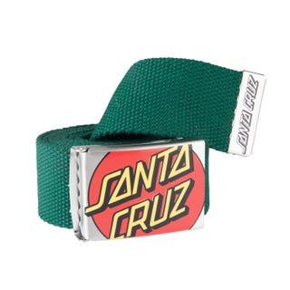 Santa Cruz Men's Crop Dot Belt Evergreen