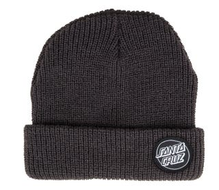Santa Cruz Clothing UK and Europe - Outline Dot Beanie Black