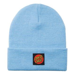 Santa Cruz Classic Label Dot Beanie powder blue