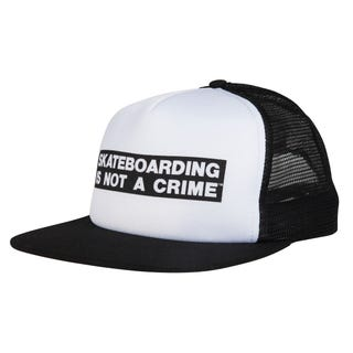 Santa Cruz Skateboarding is Not a Crime Trucker Cap