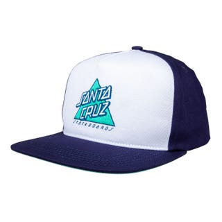 Santa Cruz Not A Dot Snapback Cap White / Dark Navy