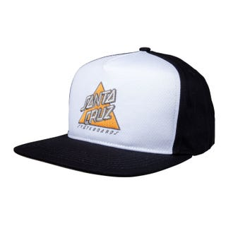 Santa Cruz Not A Dot Snapback Cap White / Black
