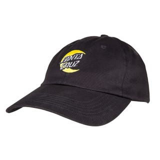Santa Cruz Moon Dot Cap Black